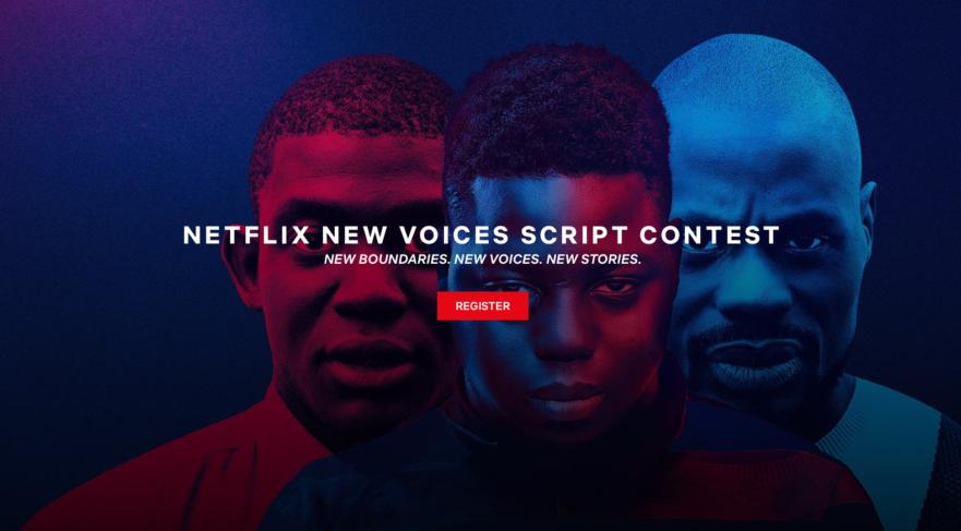 Netflix New Voices Script Contest